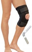 Бандаж на коленный сустав разъемный с металлическими шарнирами