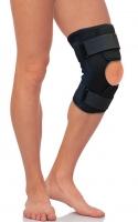 Бандаж на коленный сустав разъемный, с метал.шарнирами