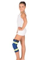 Бандаж на коленный сустав с металлическими шарнирами (детский)