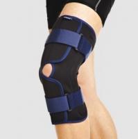 Бандаж на коленный сустав с полицентрическими шарнирами, разъемный