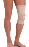 Бандаж на коленный сустав с ребрами жесткости и силикон. кольцом