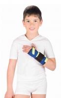 Бандаж на лучезапястный сустав с металлической шиной (детский)