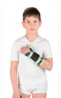 Бандаж на лучезапястный сустав с фиксацией первого пальца (детский)