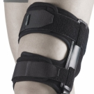 Брейс на коленный сустав с полицентрическими шарнирными замками