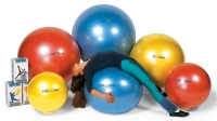 """Мяч """" Body ball """" с BRQ  (красный, 55 см)"""