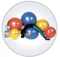 """Мяч """" Body ball """" с BRQ (красный, 85 см)"""