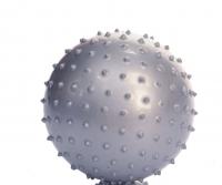 Мяч гимнастический игольчатый (голубой, 30 см)