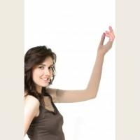 Онкологический рукав удлиненный с перчаткой с хлопком (класс компрессии - II, 23-32 mmHg)