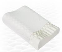 Ортопедическая подушка массажная из натурального латекса ТОП-205
