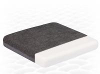Ортопедическая подушка на сидение из натурального латекса  ТОП-207 (45х45 см)