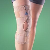 Ортопедический коленный ортез полужесткий разъемный