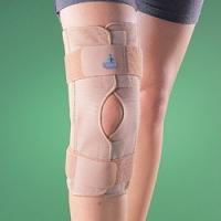 Ортопедический коленный ортез шарнирный разъемный