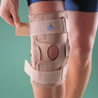 Ортопедический разъемный шарнирный коленный ортез