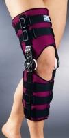 Фиксирующая шина коленного сустава с определенным диапазоном движения
