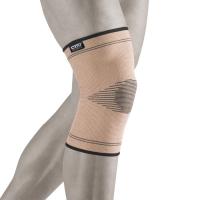 Эластичный бандаж на коленный сустав с разреженной вязкой над коленной чашечкой ВСК 200