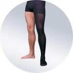Мужской чулок на одну ногу, плотный II класс компрессии (23-32 мм рт. ст.)